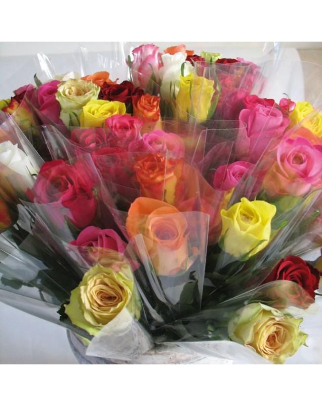 Roses emballées